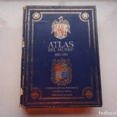 Libros antiguos: ATLAS DEL MUNDO CON CARTOGRAFIA ANTIGUA Y ACTUAL. Lote 175226314