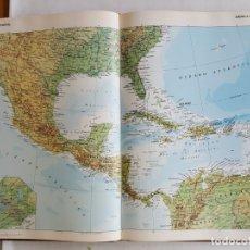 Libros antiguos: F 2615 EDITORIAL PLANETA DE AGOSTINI ATLAS MUNDIAL CON TAPA DURA EDICIÓN DE 1987. Lote 175464599