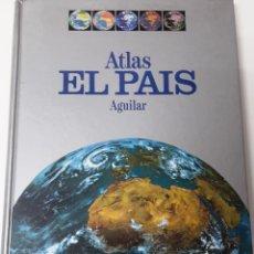 Libros antiguos: ATLAS DE ESPAÑA - EL PAÍS - AGUILAR 1992 - MAPAS. Lote 175475494