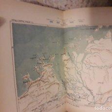 Libros antiguos: 1888 PIEL NUEVA GEOGRAFIA UNIVERSAL 6 TOMOS RECLUS MAPAS COLOR GRABADOS. Lote 175937217