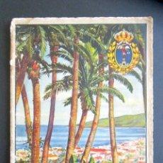 Libros antiguos: AÑO 1931. GUÍA ILUSTRADA DE LA PALMA. CANARIAS. INCLUYE MUCHAS IMÁGENES Y MAPA DE LA ISLA. . Lote 176103519