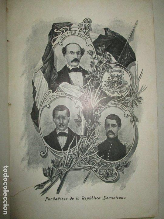 Libros antiguos: LA REPÚBLICA DOMINICANA. DIRECTORIO Y GUÍA GENERAL. DESCHAMPS, Enrique. c. 1907. - Foto 4 - 268298354