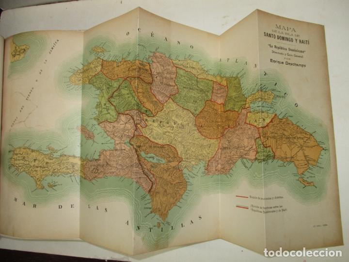 Libros antiguos: LA REPÚBLICA DOMINICANA. DIRECTORIO Y GUÍA GENERAL. DESCHAMPS, Enrique. c. 1907. - Foto 7 - 268298354