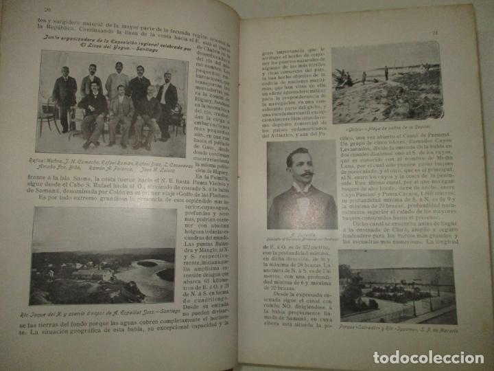 Libros antiguos: LA REPÚBLICA DOMINICANA. DIRECTORIO Y GUÍA GENERAL. DESCHAMPS, Enrique. c. 1907. - Foto 8 - 268298354