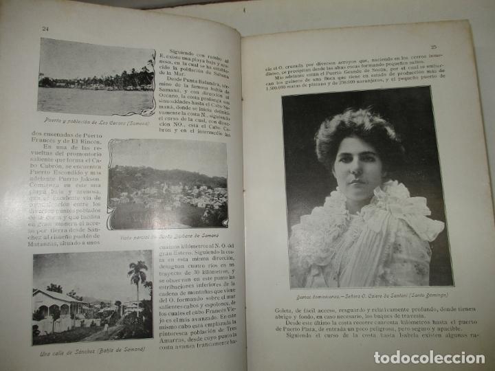 Libros antiguos: LA REPÚBLICA DOMINICANA. DIRECTORIO Y GUÍA GENERAL. DESCHAMPS, Enrique. c. 1907. - Foto 9 - 268298354