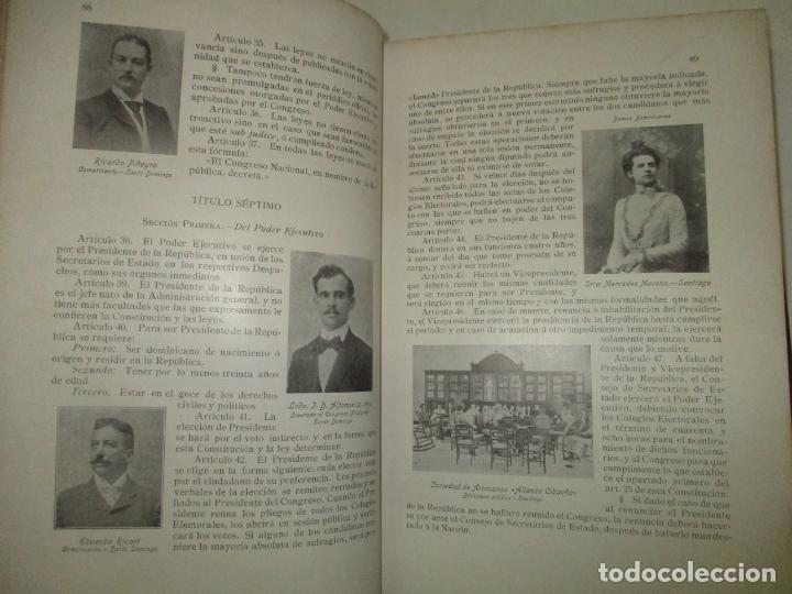 Libros antiguos: LA REPÚBLICA DOMINICANA. DIRECTORIO Y GUÍA GENERAL. DESCHAMPS, Enrique. c. 1907. - Foto 10 - 268298354