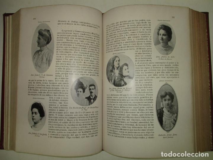 Libros antiguos: LA REPÚBLICA DOMINICANA. DIRECTORIO Y GUÍA GENERAL. DESCHAMPS, Enrique. c. 1907. - Foto 11 - 268298354