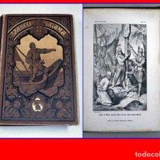 Libros antiguos: LIBRO DEL SIGLO XIX SOBRE VASCO DE GAMA. ILUSTRADO.. Lote 176680393