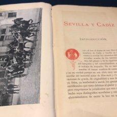 Libros antiguos: MADRAZO. SEVILLA Y CÁDIZ. Lote 176911782
