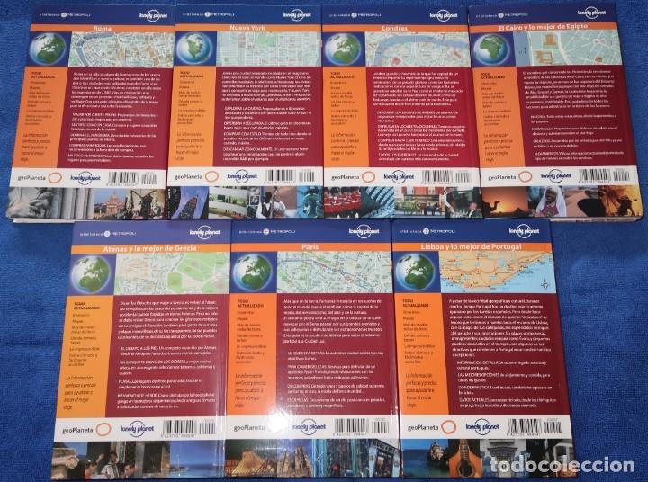 Libros antiguos: Roma - Paris - Londres - Nueva York - El Cairo - Atenas - Lisboa - Lonely Planet (2005) - Foto 2 - 168318044