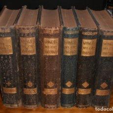 Libros antiguos: GEOGRAFIA GENERAL DEL PAIS VASCO-NAVARROL FRANCISCO CARRERASY CANDDI. 6 TOMOS, COMPLETA.. Lote 177827745