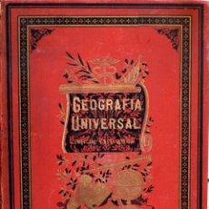 Libros antiguos: (GEOGRAFÍA) (MAPAS) ATLAS DE GEOGRAFÍA UNIVERSAL COMPUESTO DE 15 MAPAS - VARIOS AUTORES. Lote 178087204