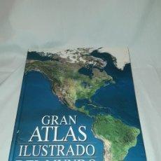 Libros antiguos: ANTIGUO LIBRO GRAN ATLAS ILUSTRADO DEL MUNDO READER´S DIGEST. Lote 178737040