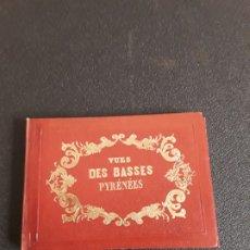 Libros antiguos: MERCEREAU. VUES DE BASSES PYRÉNÉES.FAMOSO ALBUM PEQUEÑO DE 25 VISTAS A COLOR DE PAU Y OTRAS VILLAS.. Lote 178757673