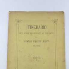 Libros antiguos: MEMORIA VIAJE VERIFICADO POR ORIENTE DE BALTASAR DE BACARDÍ 1872. Lote 178982888