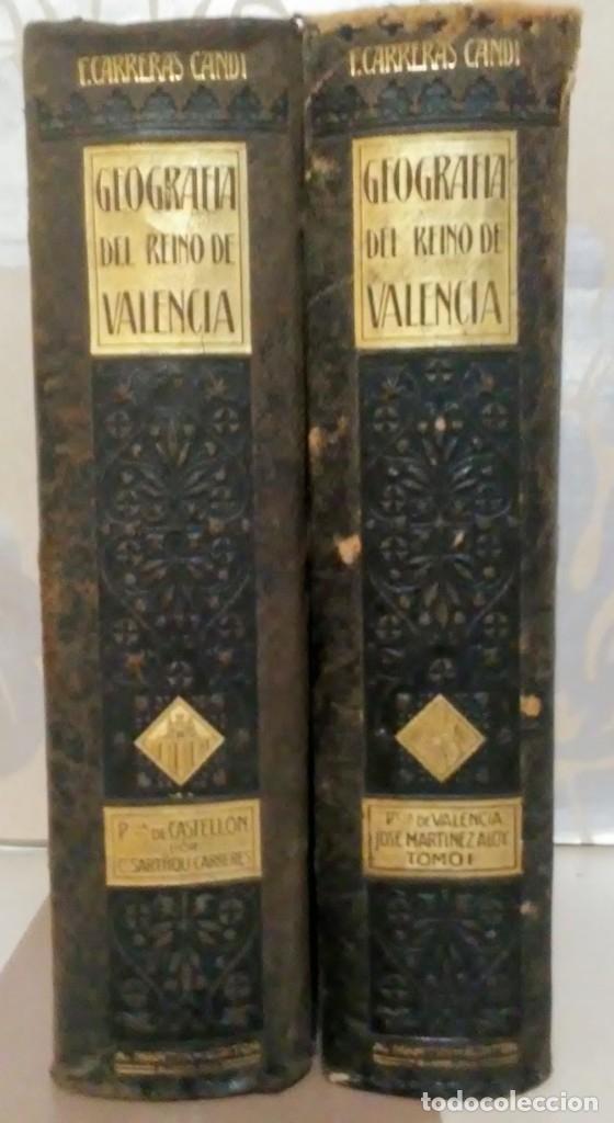 Libros antiguos: Geografia general reino Valencia provincia Castellón y provincia Valencia tomo I Carreres Candi 1924 - Foto 2 - 178981797