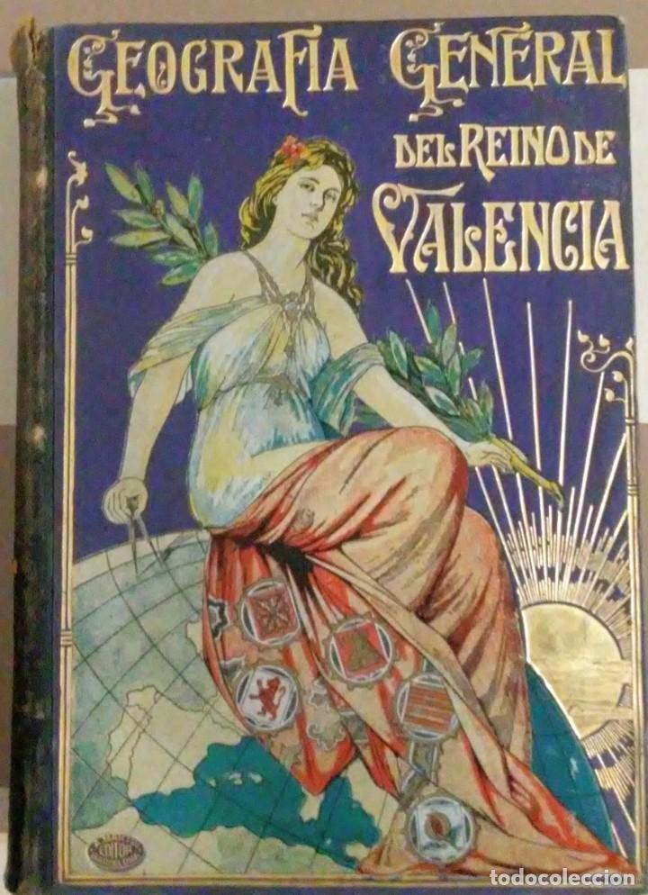 Libros antiguos: Geografia general reino Valencia provincia Castellón y provincia Valencia tomo I Carreres Candi 1924 - Foto 7 - 178981797