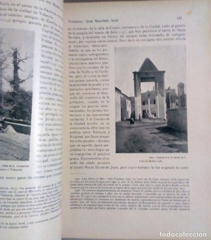 Libros antiguos: Geografia general reino Valencia provincia Castellón y provincia Valencia tomo I Carreres Candi 1924 - Foto 9 - 178981797