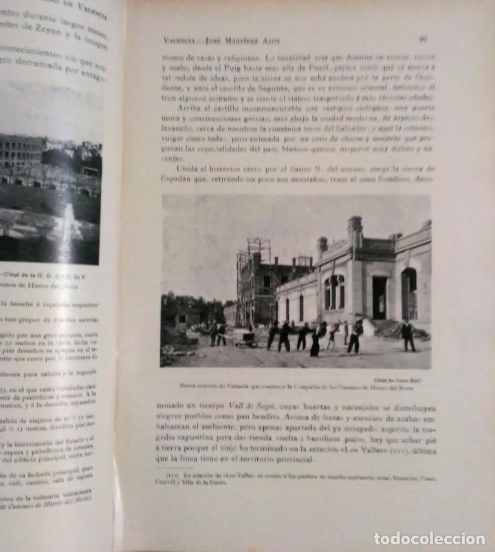 Libros antiguos: Geografia general reino Valencia provincia Castellón y provincia Valencia tomo I Carreres Candi 1924 - Foto 10 - 178981797