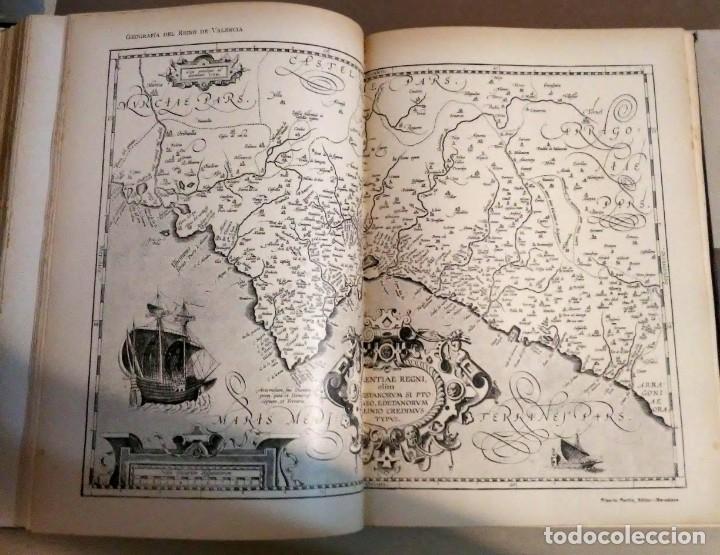 Libros antiguos: Geografia general reino Valencia provincia Castellón y provincia Valencia tomo I Carreres Candi 1924 - Foto 11 - 178981797