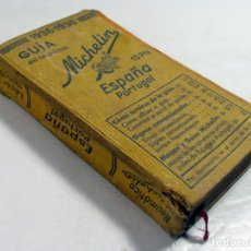 Libros antiguos: GUIA DEL NEUMATICO MICHELIN. ESPAÑA PORTUGAL. 1936 – 1938. GUERRA CIVIL. Lote 194780487