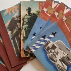 Libros antiguos: 7 GUÍAS TURÍSTICAS DE ITALIA. Lote 179383565