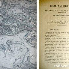 Libros antiguos: VELARDE VACA, JUAN F. EL MADERA Y RÍOS QUE LO FORMAN. 1888 [BOLETÍN DE LA REAL SOCIEDAD GEOGRÁFICA]. Lote 179395667