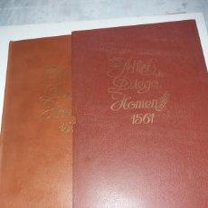 Libros antiguos: ATLAS DE DIEGO HOMEN, EDICION FACSIMIL 1975, MADRID. . Lote 180190006