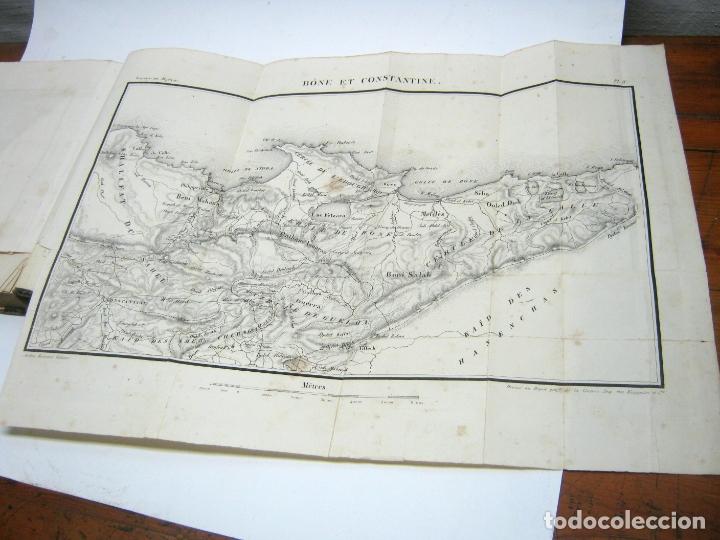 Libros antiguos: 1841 - LAlgerie par Baron Baude 1ª edicion - Argelia T.I - 3 mapas - Foto 4 - 180274721