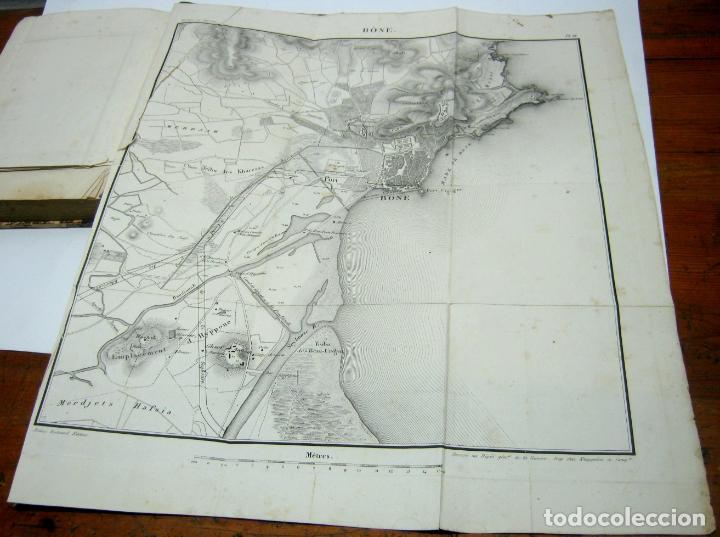 Libros antiguos: 1841 - LAlgerie par Baron Baude 1ª edicion - Argelia T.I - 3 mapas - Foto 5 - 180274721