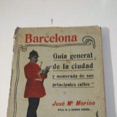 Libros antiguos: BARCELONA GUÍA GENERAL DE LA CIUDAD. Lote 180498788
