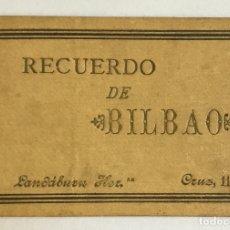 Libros antiguos: RECUERDO DE BILBAO. - [ÁLBUM.] 14 VISTAS. Lote 180952971