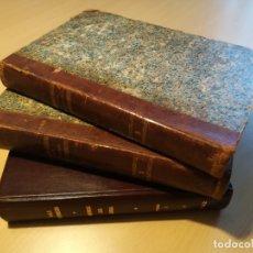 Libros antiguos: VIAJE PINTORESCO AL REDEDOR DEL MUNDO, 3 TOMOS. Lote 181035802