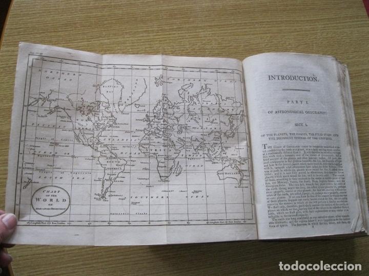 Libros antiguos: Gramática geográfica de Guthrie, 1800. W. Guthrie. Con mapas - Foto 5 - 181359748