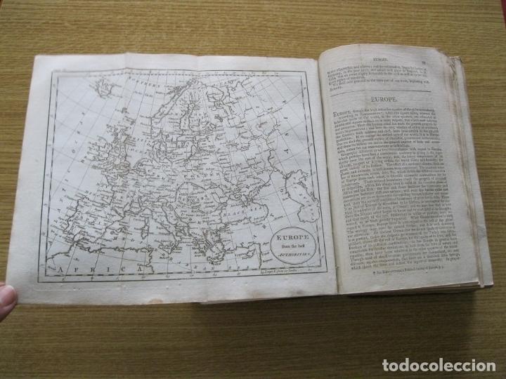 Libros antiguos: Gramática geográfica de Guthrie, 1800. W. Guthrie. Con mapas - Foto 6 - 181359748