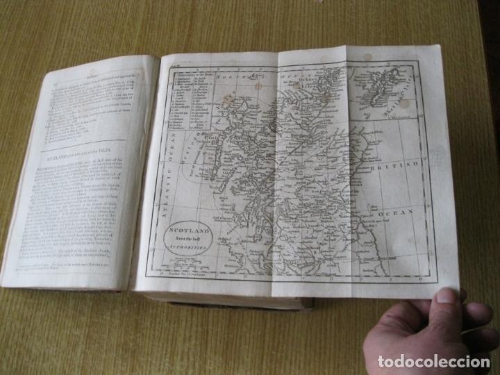 Libros antiguos: Gramática geográfica de Guthrie, 1800. W. Guthrie. Con mapas - Foto 7 - 181359748