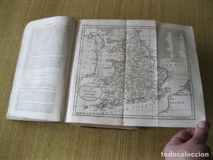 Libros antiguos: Gramática geográfica de Guthrie, 1800. W. Guthrie. Con mapas - Foto 8 - 181359748