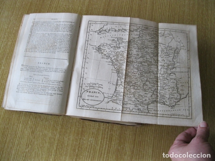 Libros antiguos: Gramática geográfica de Guthrie, 1800. W. Guthrie. Con mapas - Foto 10 - 181359748