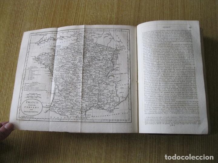 Libros antiguos: Gramática geográfica de Guthrie, 1800. W. Guthrie. Con mapas - Foto 11 - 181359748