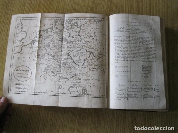 Libros antiguos: Gramática geográfica de Guthrie, 1800. W. Guthrie. Con mapas - Foto 14 - 181359748