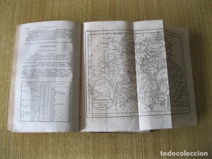 Libros antiguos: Gramática geográfica de Guthrie, 1800. W. Guthrie. Con mapas - Foto 16 - 181359748