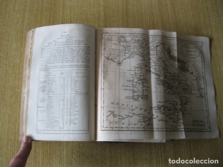 Libros antiguos: Gramática geográfica de Guthrie, 1800. W. Guthrie. Con mapas - Foto 18 - 181359748