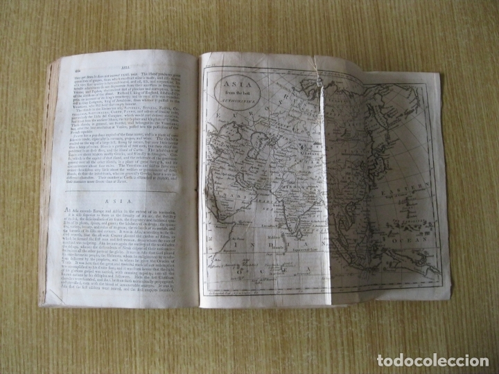 Libros antiguos: Gramática geográfica de Guthrie, 1800. W. Guthrie. Con mapas - Foto 20 - 181359748