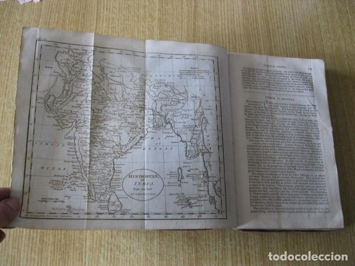 Libros antiguos: Gramática geográfica de Guthrie, 1800. W. Guthrie. Con mapas - Foto 22 - 181359748