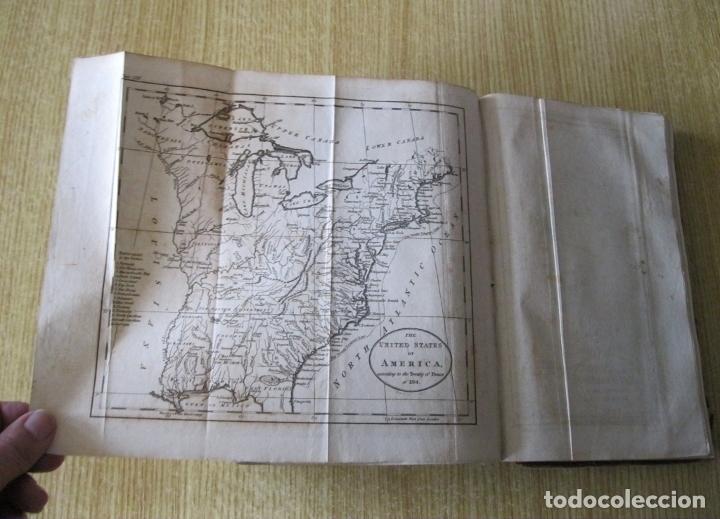 Libros antiguos: Gramática geográfica de Guthrie, 1800. W. Guthrie. Con mapas - Foto 24 - 181359748
