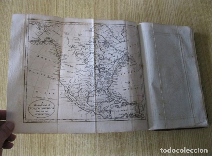 Libros antiguos: Gramática geográfica de Guthrie, 1800. W. Guthrie. Con mapas - Foto 25 - 181359748