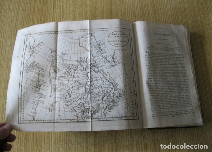Libros antiguos: Gramática geográfica de Guthrie, 1800. W. Guthrie. Con mapas - Foto 26 - 181359748