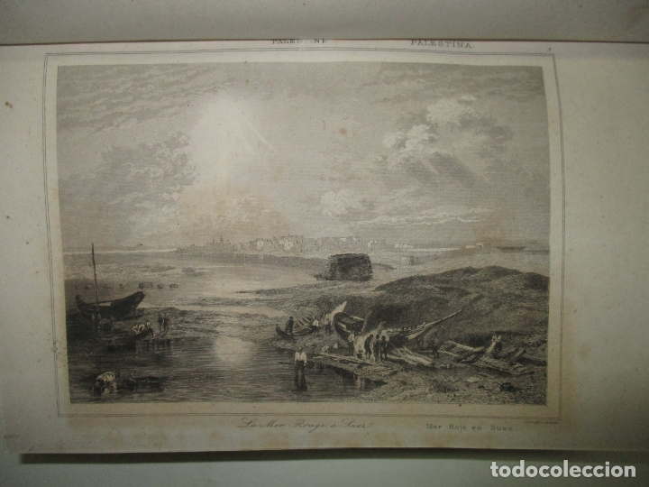 Libros antiguos: PANORAMA UNIVERSAL. HISTORIA DE LA PALESTINA O TIERRA SANTA. 1842. (3 OBRAS EN 1 VOL). - Foto 6 - 181403847