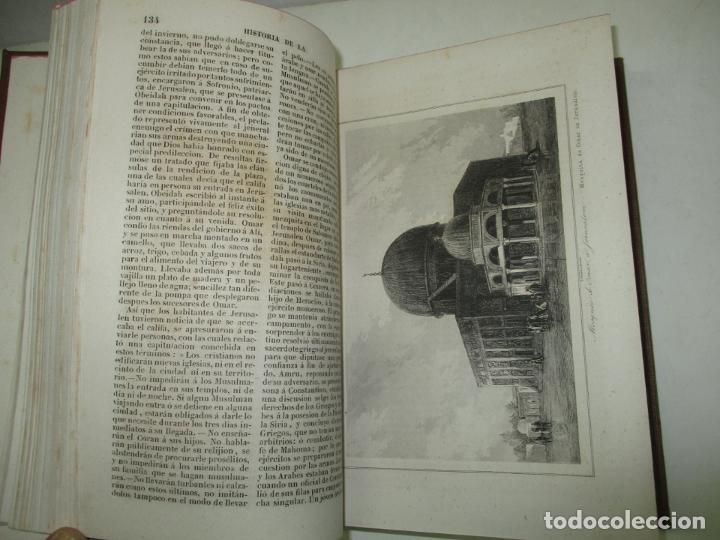 Libros antiguos: PANORAMA UNIVERSAL. HISTORIA DE LA PALESTINA O TIERRA SANTA. 1842. (3 OBRAS EN 1 VOL). - Foto 7 - 181403847
