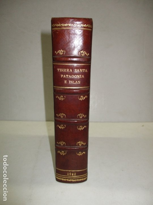 PANORAMA UNIVERSAL. HISTORIA DE LA PALESTINA O TIERRA SANTA. 1842. (3 OBRAS EN 1 VOL). (Libros Antiguos, Raros y Curiosos - Geografía y Viajes)
